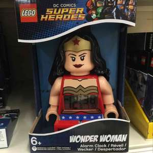 Lego Wonder Woman Alarm Clock £6 in Sainsbury's Hayes