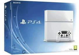 Playstation 4 500GB (White) with FIFA 17 and NOW TV £149.99 GAME (also in store)