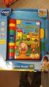 Vtech nursery rhyme book £6 Tesco instore