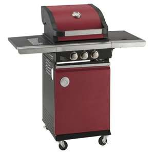 MasterChef 2 Burner Gas BBQ with Side Burner, Red Down To £80 @ Tesco Direct (Avoidable 7.95 delivery charge)