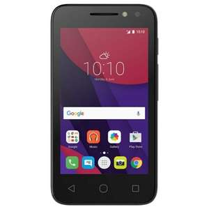 Alcatel Pixi 4 Black / Rose Gold £25 free c&c on Tesco Mobile