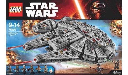 Lego Star Wars Millennium Falcon 75105 £76 @ Asda