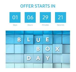 Samsung blue box day  - heads up. 1st October