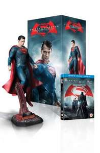 Batman v Superman: Dawn of Justice - Superman Statue Ultimate Edition (Limited Edition - Exclusive to Amazon.co.uk) [Blu-ray 3D + Blu-ray] £49.99 @ Amazon