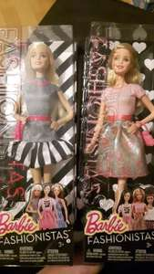 Barbie Fashionista dolls scanning at £3.25 @ Walsall Tesco