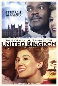 Showfilmfirst: 'A United Kingdom' 05/10/2016