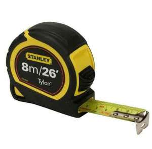 Stanley tape measure 8M/26F Amazon add on £4.35 instead of £4.95