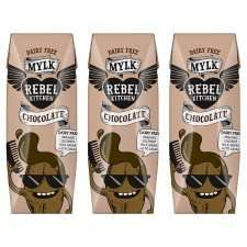 Tesco instore & online Rebel Kitchen Dairy Free chocolate mylk & chocolate orange mylk 3 x 250ml £2.00 was £3.00
