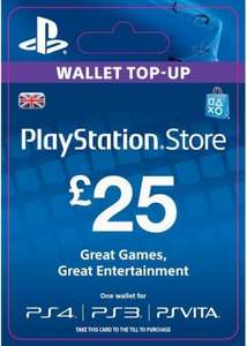 PSN TOPUP £25.00 for £22.85 @base.com