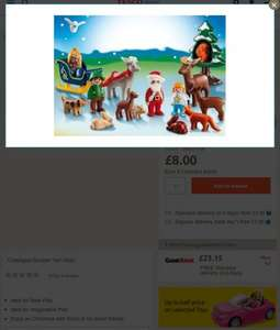 Playmobil 123 advent calendar £8 + £3p&p = £11 @ Tesco Direct