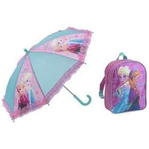 Disney Frozen Backpack and Umbrella 7.49 @ argos