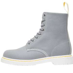 Dr Martens Mens Page Canvas Boots Mid Grey (50% off) £44.99 + delivery @mandmdirect.com