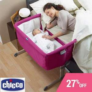 Chicco next to me FUSCHIA £119.95  free P+P save £45 @ Online 4 Baby