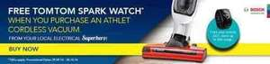 Bosch Athlet and TomTom Spark Watch £139.99 at Euronics Save £169.99