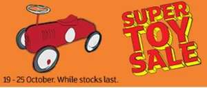 sainsbury toy event 19 October 2016 instore