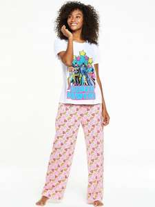 Wonder Woman Super Powers PJ Set (Was £22.00)  Now £11.00 at Very