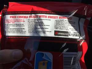 Cinema ticket for £4.50 on Sunday, plus loads of Chocolate (Morrisons)
