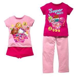 shopkins pyjamas half price in Argos £7.49 for two pairs