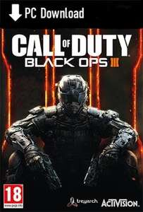Call of Duty Black Ops III PC Steam Download only £20 @ Game.co.uk