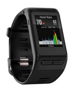Used Garmin Vivoactive GR GPS smart fitness watch on Ebay sold by exdemolaptops for £139.99