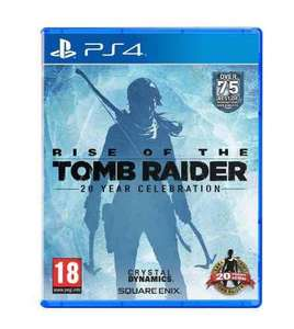Rise of the Tomb Raider (ps4): 20 Year Celebration Artbook Edition (£36 PRIME ONLY) £38 @ amazon