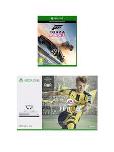 Xbox One S + FIFA 17 + Forza Horizon 3 for £279 (get £50 account credit) @ Very (when buy now pay later)