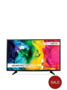 """LG 43UH610v 43"""" 4K HDR TV for £399.99 (+£6.99 delivery) @ Very"""
