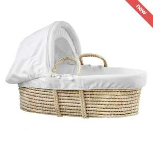 Kub moses basket RRP £80 limited stock £15 FREE P&P @ Nurserysavings.com
