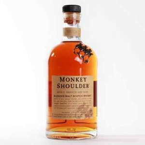 Monkey Shoulder 70cl for £23 at Sainsbury's