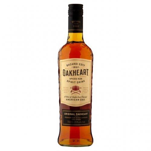 Bacardi Oakheart 70cl, Green Mark Vodka 70cl  £10.00  Morrisons