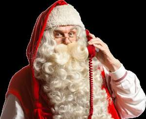 Free personalised video message from Santa, PNP Portable North Pole