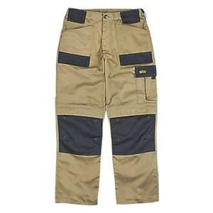 Screwfix Deal - Buy any 2 Site work trousers for £25.00 (16.99 per pair)