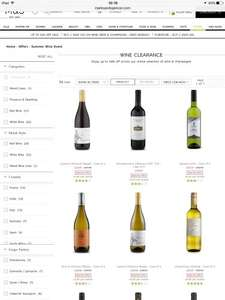 M&S summer wine event still live online upto 50% off cases 6