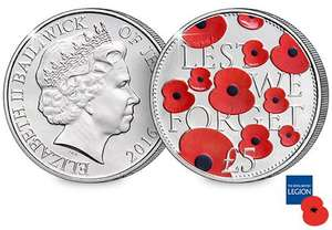 £5 for £5 with 42p cashback and 50p to British Legion