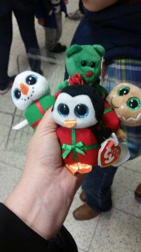 TY beanie babies Christmas 79p  home bargains carlisle