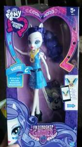 My little pony equastria girls friendship games rarity £3.99 - Home bargains carlisle