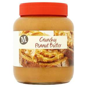 Morrisons Crunchy Peanut Butter, 700g £1 (Prime members Only) @ Amazon Pantry