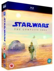 Star Wars Saga £15.49, James Bond Collection £11.99 plus more on Blu-ray @ Hive.co.uk