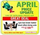April Price reductions @ Argos !