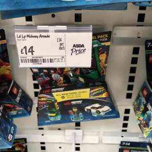 Lego dimensions midway level £14 asda instore