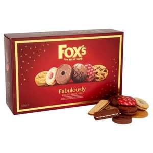 Fox's Fabulously  Biscuits 600G £3.00 @ Morrisons