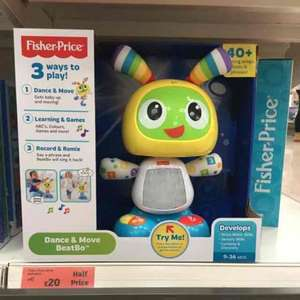 Fisher Price BeatBo £20 half price at Sainsburys