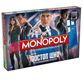 Doctor Who Monopoly £15.49 at ForbiddenPlanet.com