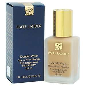 Estee Lauder double wear foundation ( Pebble ) £20.74 via Amazon