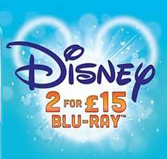 2 Disney Blu-Ray for £13.50, 2 Disney DVD for £10.80, both prices are delivered price using code SIGNUP10 @ zoom.co.uk
