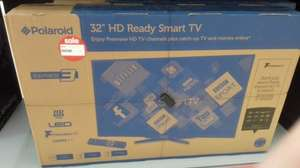Polaroid smart TV 32 ''  in Asda Hounlsow from £210 now only £139