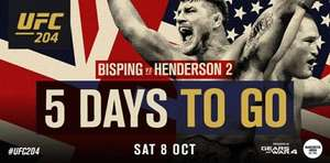 FREE UFC 204 Bisping vs Henderson 2 Ceremonial Weigh-in - Manchester