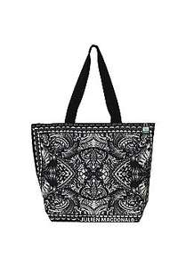 Julien Macdonald Cotton Shopping Tote Bag in Black now £2 C+C @ Tesco Direct