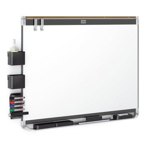 Nobo Prestige 600 x 900 mm Magnetic Enamel Whiteboard with Black Aluminium Trim  £27.72 @ Amazon