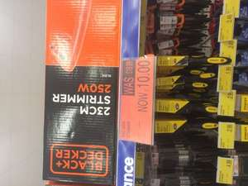 Black & Decker GL250 Strimmer £9.99 @ B&M